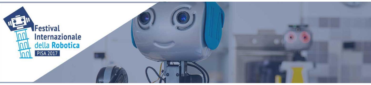 Accra présenté dans le Festival Internazionale della robotica